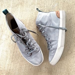 TOMS 6-Eyelets Lace-up Hi-Top Fashion Sneakers